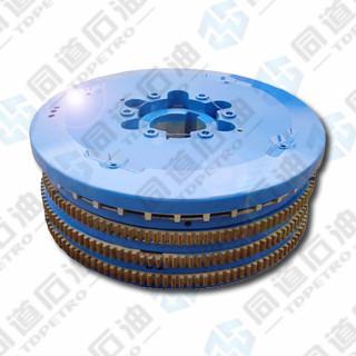 Air Tube Disc Clutch