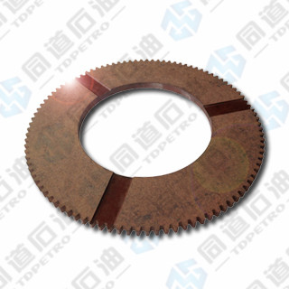 Tooth friction plate